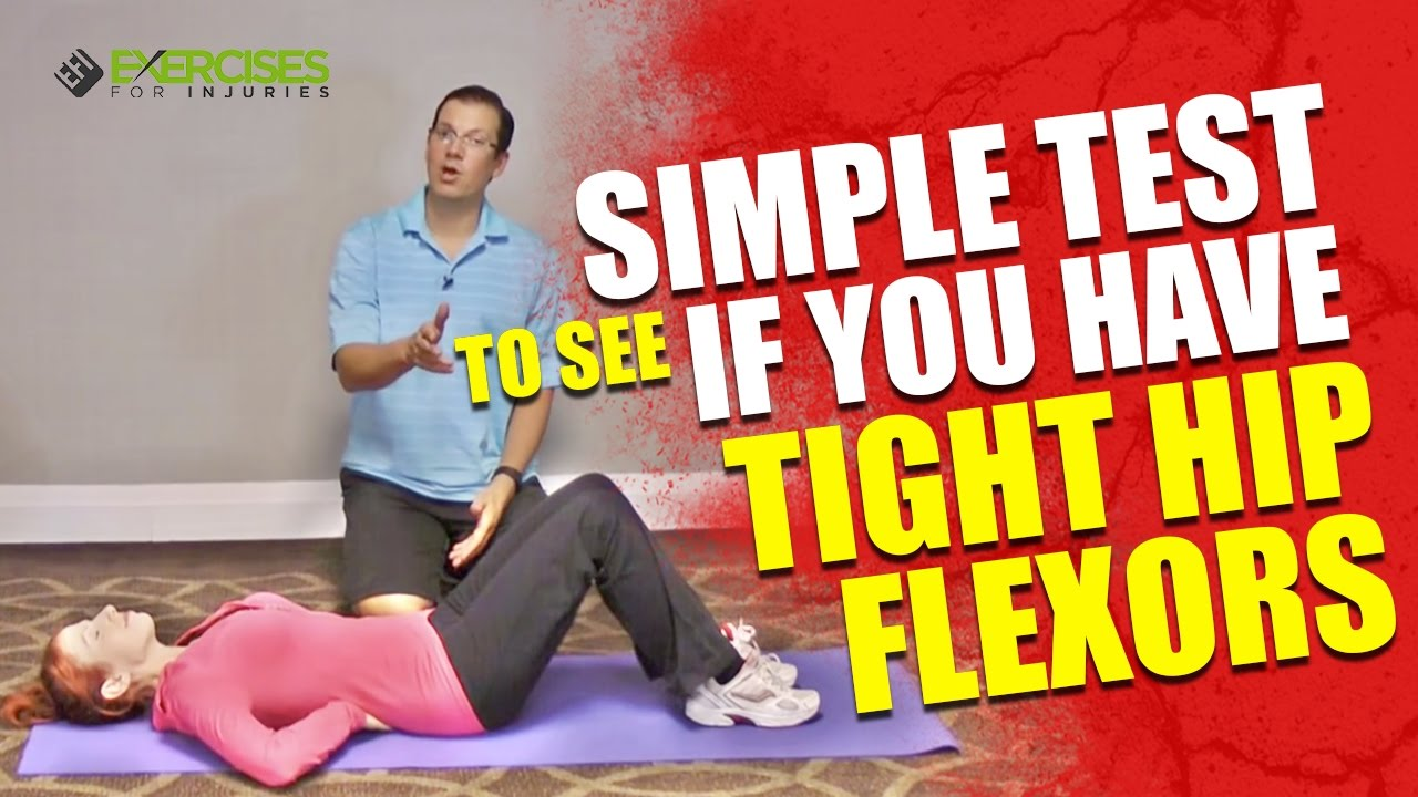 maxresdefault 11 - Simple Test To See If You Have Tight Hip Flexors