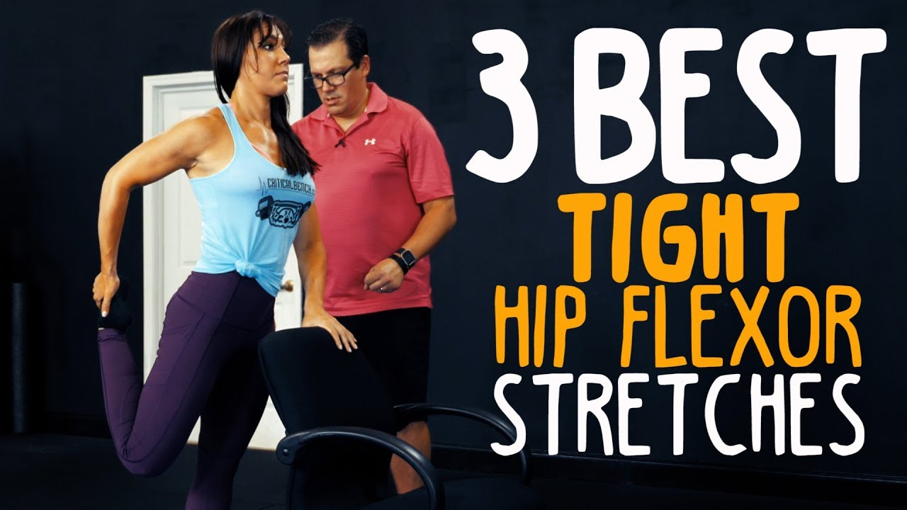 maxresdefault 37 - 3 Best TIGHT Hip Flexor Stretches (Releases Hips!)